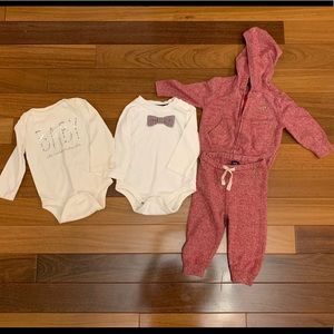 Baby gap 4 piece holiday set. Baby boy 6-12 month